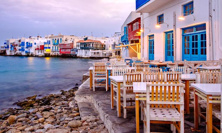 Tavernas in Mykonos