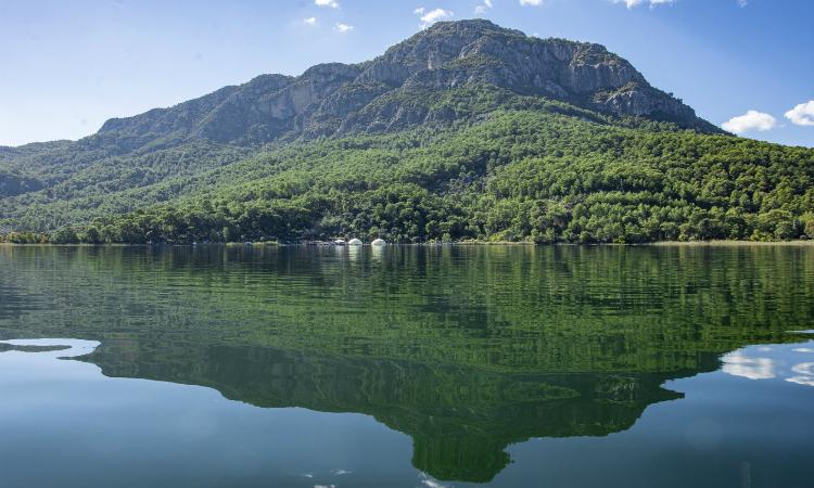 Lake Köyceğiz Dalyan Turkey