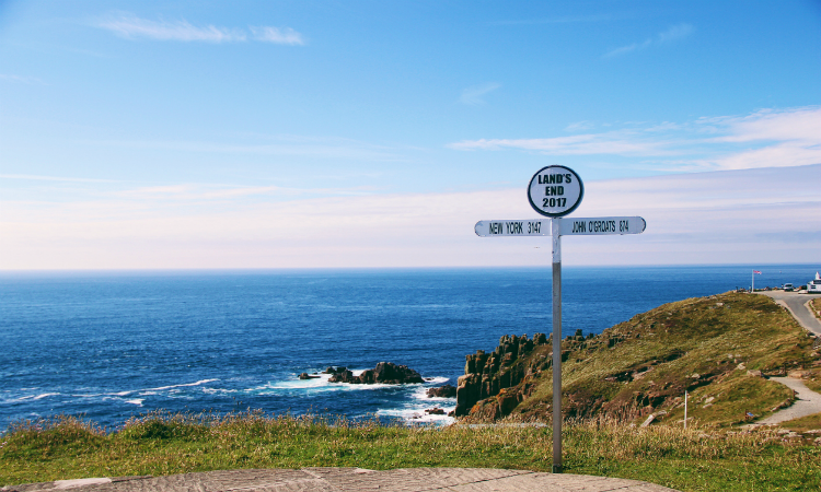 South West Coast Path - Land's End
