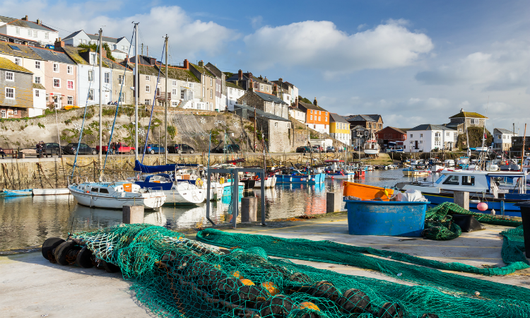South West Coast Path - Mevagissey