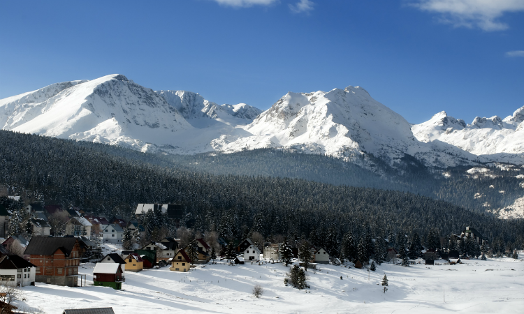 What to do in 1 week in Montenegro - skiing
