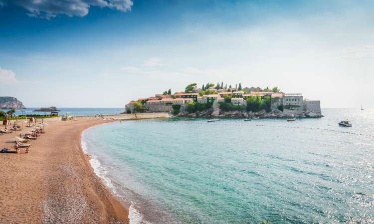 What to do in 1 week in Montenegro - beaches