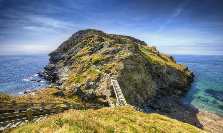 South West Coast Path - Tintagel