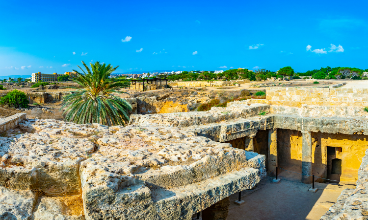 Unique Vacation Ideas - Tomb of Kings in Paphos