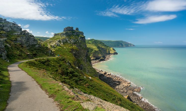 South West Coast Path - Valley of the Rocks