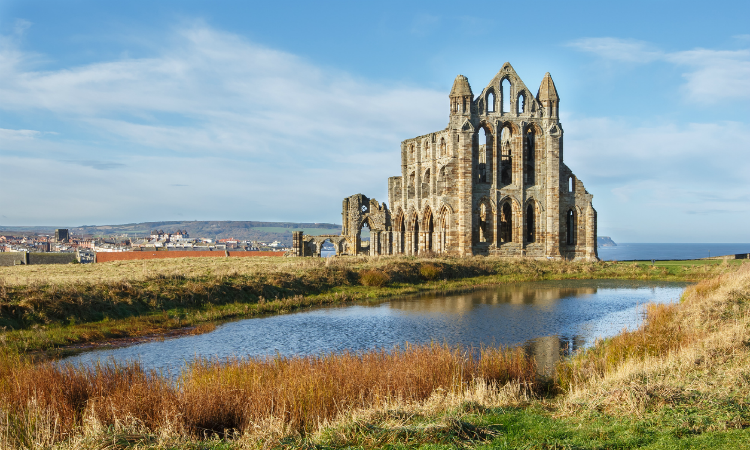 North East Coast Path - Whitby Abbey