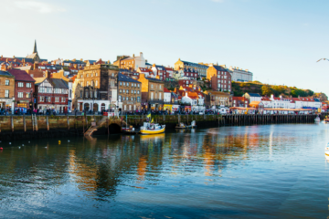 Whitby harbour - England Coast Path