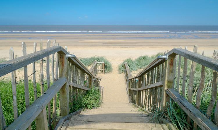 Mablethorpe Beach - North East Coast Path