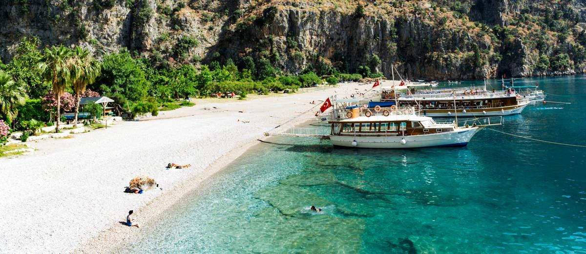 Best beaches in Fethiye