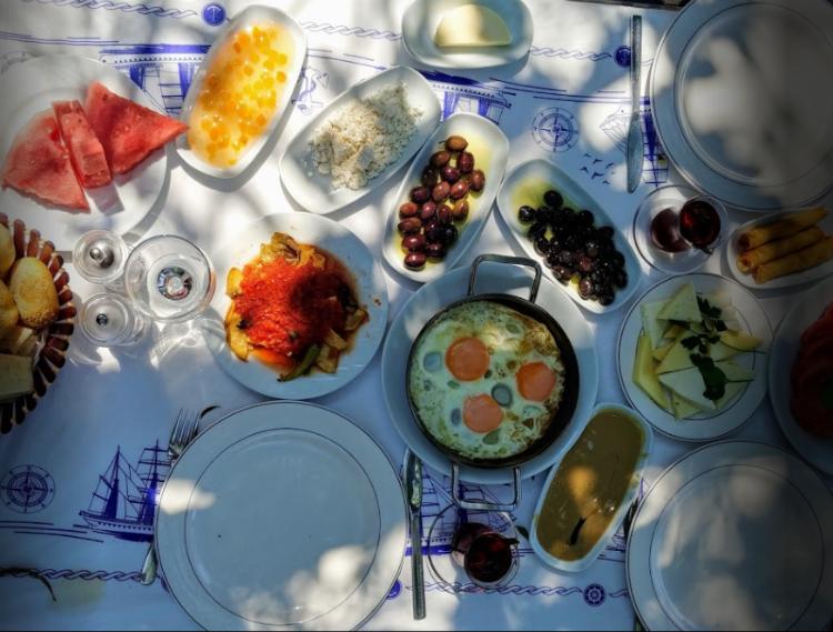 Traditional Turkish Food Halil In Yeri Akyaka