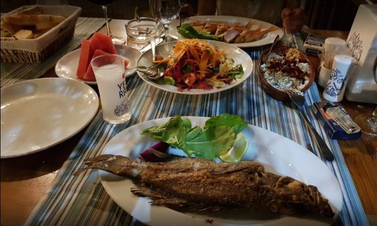 Traditional Turkish Food Olta Balik Restaurant
