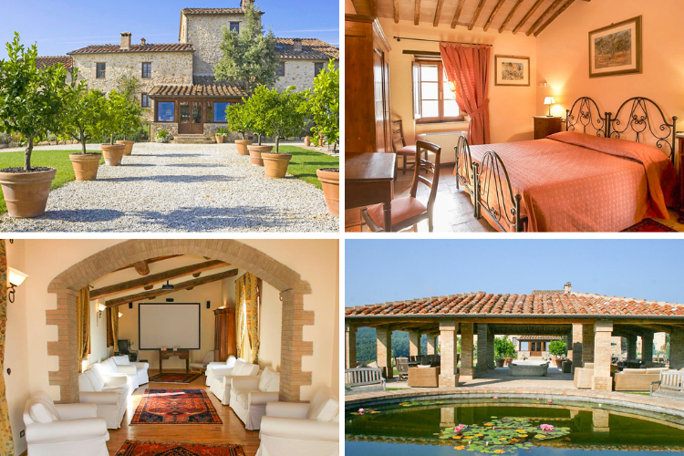 Villa Fassio, Tuscany