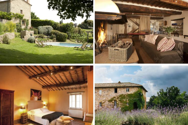 Villa Leccio, Tuscany