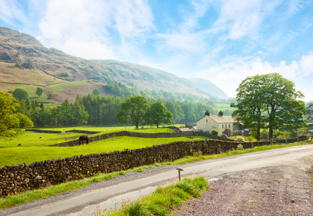 Countryside at the Lake District - Travel Guide