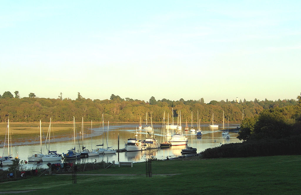 beaulieu river with boats