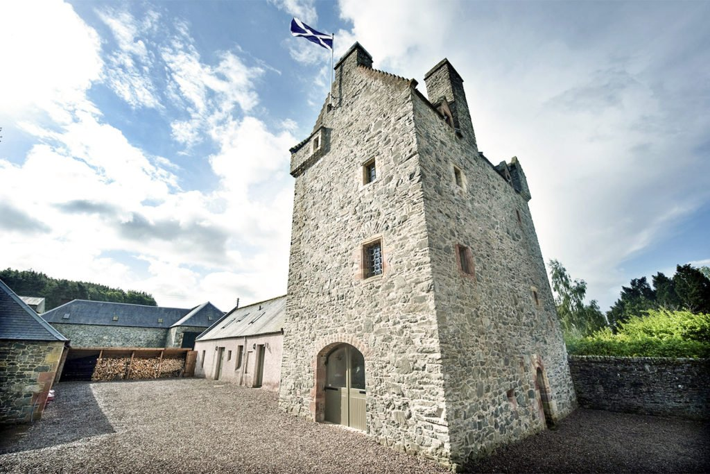 Aikwood Tower Scotland - unusual places to stay in the UK