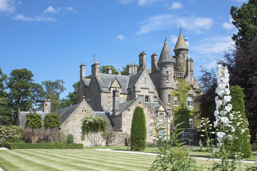 Kirkliston Castle, Scotland - Unusual places to stay in the UK