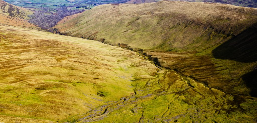 Brecon beacons hills