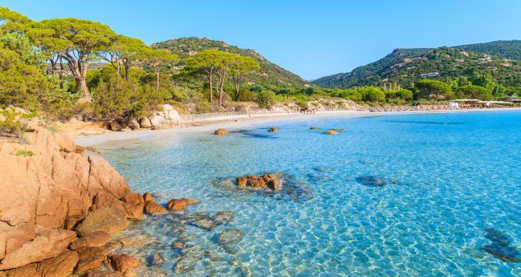 Plage de Palombaggia, Corsica