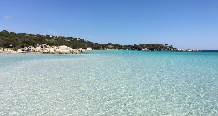 Plage de Santa Giulia, Corsica