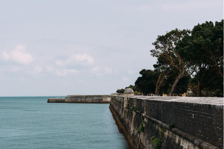 Saint-Martin-de-Ré ramparts