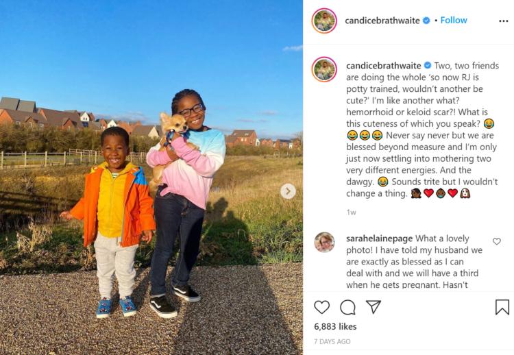 Candice Brathwaite Instagram