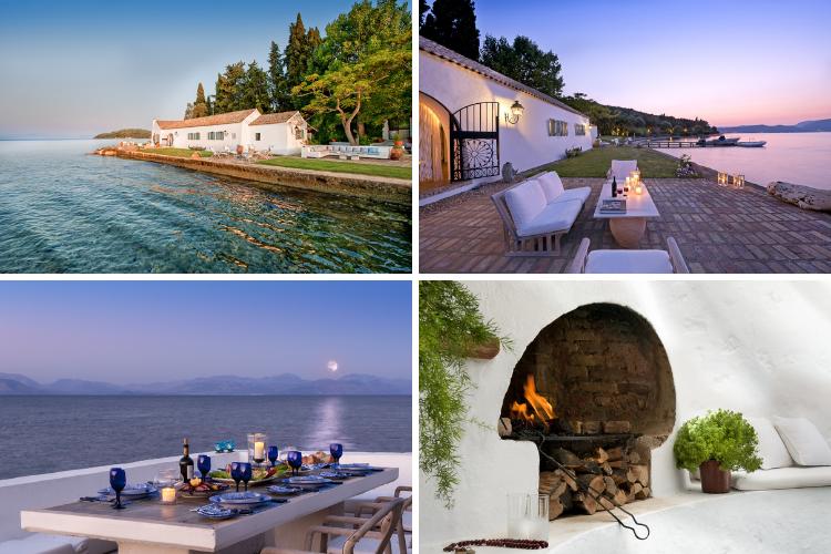 Greek villas with chapels - Boukari Bay