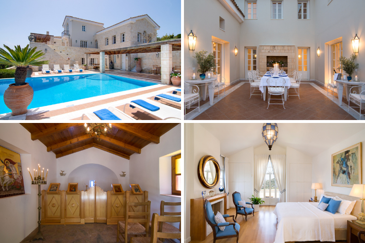 Greek villas with chapels - Exi Estate