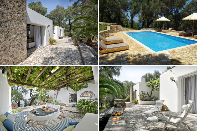 Greek villas with chapels - Villa Alexis