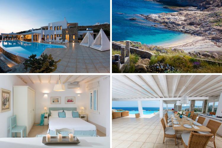 Greek villas with chapels - Villa Gamma