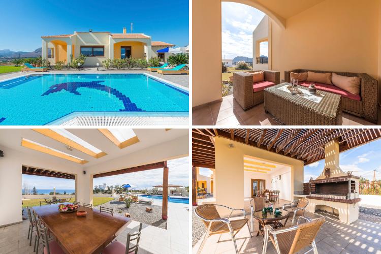 Greek villas with chapels - Villa Mikis