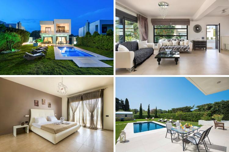 Greek villas with chapels - Villa Vikelas