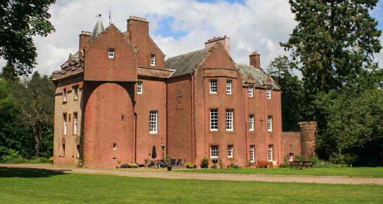 Burns Castle in Scotland