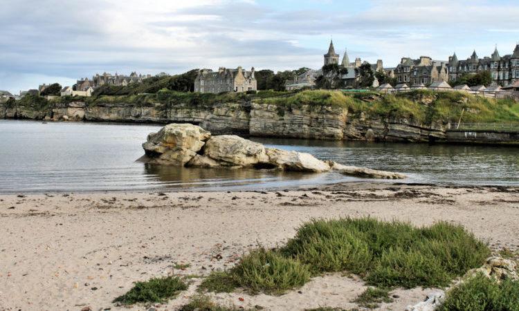 St Andrews beach scotland