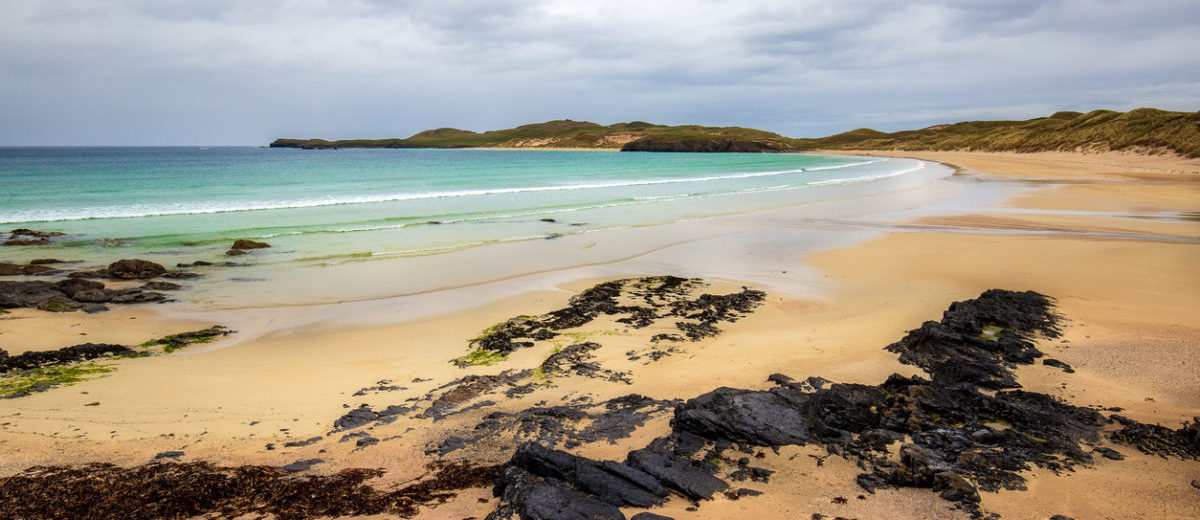 Best beaches in Scotland The beach of the peninsula Balnakeil