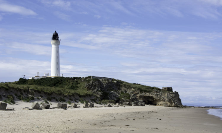 lossiemouth beach scotland