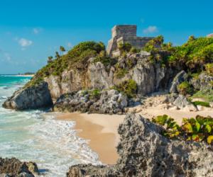 Tulum ruins, Riviera Maya, Mexico