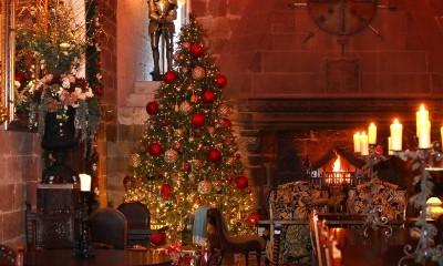 Christmas at Lothian Castle, Scotland
