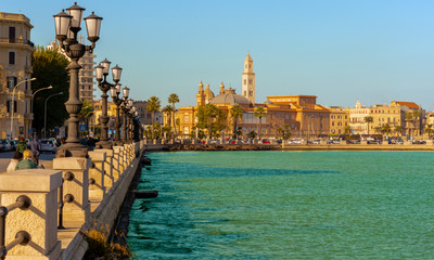 Panoramic view of Bari