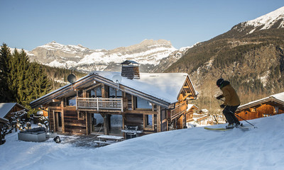 Ski Chalets with Hot Tub