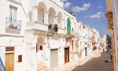 Alley of Cisternino, Puglia
