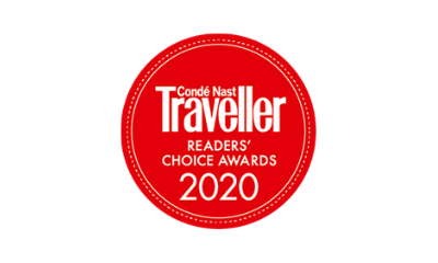Conde Nast Traveller Readers' Choice Awards 2020