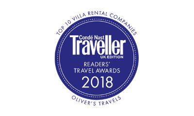 Condé Nast Traveller Readers' Awards - Oliver's Travels