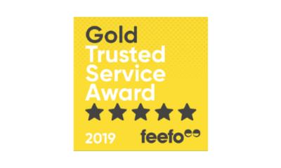 Feefo Service Award 2019