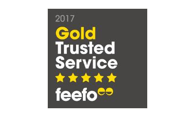 Feefo Service Award 2017