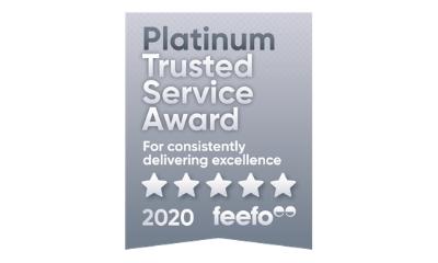 Feefo Trusted Service Award 2020