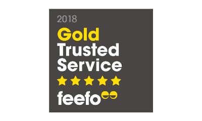 Feefo Service Award 2018