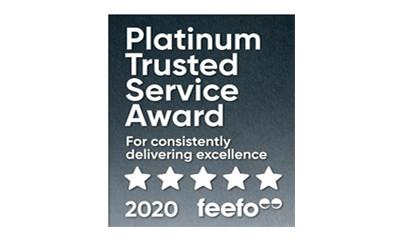 Feefo Service Award 2020
