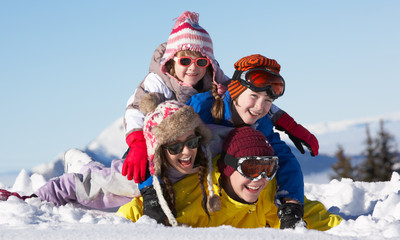 Ski Chalets with Childcare