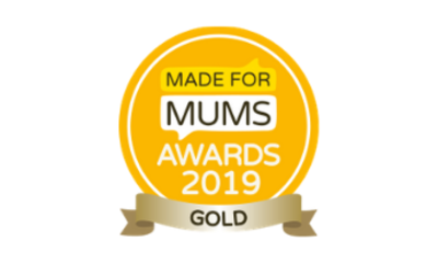 Oliver's Travels win gold in the Made for mums awards 2019